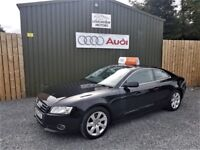 2010 AUDI A5 2.0TDI COUPE SE S/S, TWO OWNERS, FULL SERVICE HISTORY, 12 MONTHS MOT, LEATHER INTERIOR