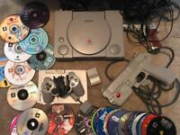 Sony Ps1 and 31 games