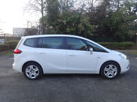 Vauxhall Zafira Tourer Exclusiv Auto Diesel 0% FINANCE AVAILABLE