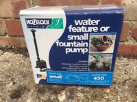 Barely used Hozelock Water feature or Small fountain pump.