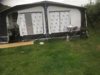 Camp tech awning