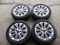 """2006-2014 VAUXHALL CORSA D 16"""" ALLOY WHEELS WITH TYRES"""