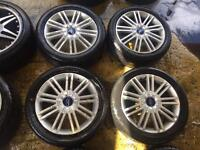 """17"""" GENUINE FORD FOCUS MONDEO GALAXY CONNECT SET OF 4 beer"""