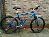 Kona full suspension mountain bike