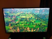 "50"" full HD hitachi smart tv"