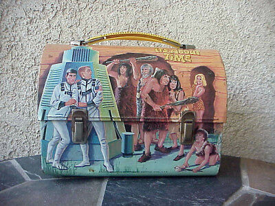 Vintage 1967 Its About Time Dome Top Lunchbox, No thermos,Great Color & Cond
