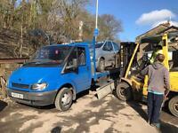 Wanted scrap cars vans 4x4 £50 plus ££ 07794523511 spares or repair