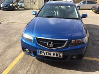 Honda Accord 2.2 diesel blue Sat Nav 1 former owner low mileage mot 13/03/18 full service history