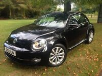 VW Beetle 1.4 TSI Design -Excellent Example - Only 23,500 miles - FMDSH - 12 month Mot & Warranty
