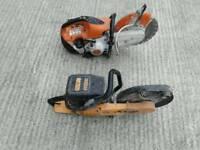 Stihl ts410 con saw
