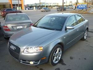 2006 Audi A4 2.0T QUATTRO/6 SPD MANUAL/LEATHER/ALLOYS/SUNROOF