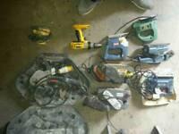 Joblot power tools. Untested
