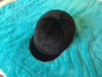 Velvet Riding Hat, never worn, perfect condition. 7 1/8 -58cm