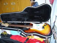 American Fender Stratocaster Deluxe guitar very nice as new. S1 switching, ash body. Must be seen