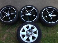 "18"" alloys (bmw-Audi-vw"