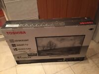BRAND NEW SEALED TOSHIBA 32 INCH SMART TV. £180 NO OFFERS.CAN DELIVER