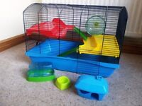 Savic Hamster Cage - Cambridge Blue