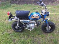 honda z50a 1972 monkey bike