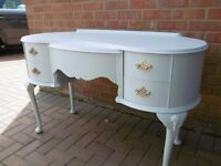 Vintage 2 in 1 Dressing Table or Desk Just Refurbished