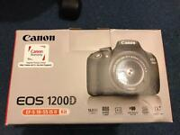 Canon ESO 1200D ef-s 18-55 is ll BRAND NEW