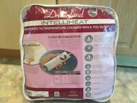 Dreamland Intelliheat Soft Fleece Heated Mattress Protector