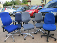 5 x Used Office Chairs