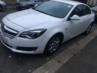 VAUXHALL INSIGNIA 2015 1.6CDTI AUTOMATIC PCO UBER READY QUICK SALE WHITE CHEAP HPI CLEAR