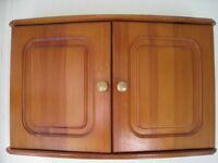 Pine Bathroom Cabinet and Mirror