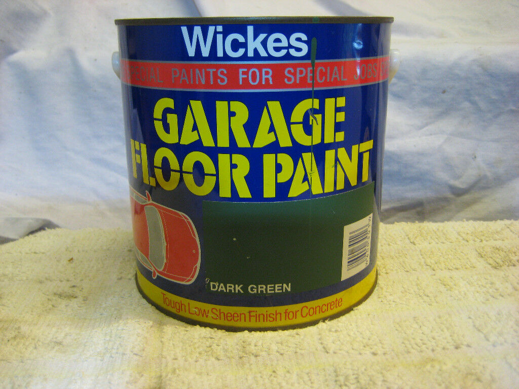 Garage Floor Paint 25l Dark Green Unused In Fakenham Norfolk