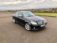 Mercedes c class c200cdi sport Auto 93k HPI clear full history 2 keys 10 month mot £7000