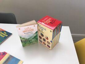 The Famous Five - Enid Blyton box set plus bonus The Valley of Adventure