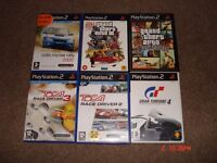 PS2 GAMES FOR SALE X 6