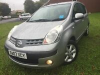 \\\ 07 NISSAN NOTE 1.6 SE , AUTOMATIC , EX CONDITION £1999