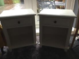 PAIR OF BEDSIDE CABINETS.NOW SOLD.