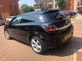 Vauxhall Astra 1.8 i 16v SRi Sport Hatch Black 3dr (57)2007 Hpi cler