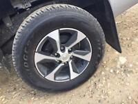 Hilux tyres bridgestone