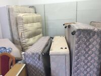 Various single & 3/4 beds used beds with mattress