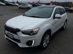 2015 Mitsubishi RVR GT, LEATHER, USB, BLUE TOOTH, NAV. SYSTEM, P