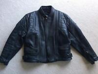 Akito Men's Leather Motorcycle Jacket