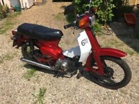 Honda C90 - very nice little bike