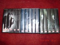 Seasons 1, 2 and 3 VHS X-Files Boxsets.