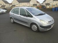 2002 CITROEN XSARA PICASSO 8 MONTH MOT PX WELCOME £395