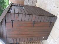 6 x 4 apex garden shed