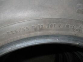 225/55x17 101v xl conti winter contact