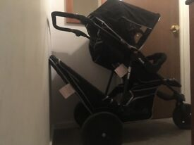 Double Hauck pushchair