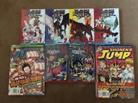YuGiOh Books and Magna magazines