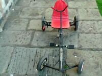 Vintage 1950's Raleigh Panther Pedal Go Kart