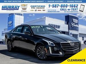2015 Cadillac CTS **Only 22,000 kms!  Sunroof!**