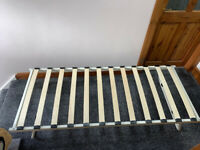 Metal trundle single Day Bed with Slatted Base