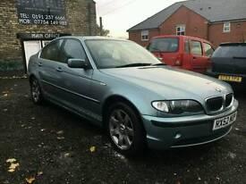 2002 BMW 320i SE Petrol, Automatic, Saloon, Green 5 Doors, 90K Miles, 12 MOT, X2 Keys